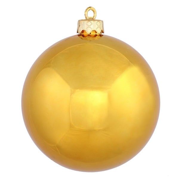 "12"" Anti Gold Shiny Ball UV Drilled Cap"