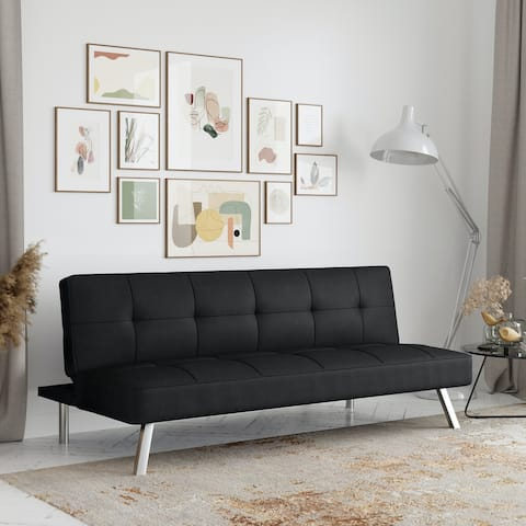 Serta® Charlie Convertible Sofa by Lifestyle Solutions