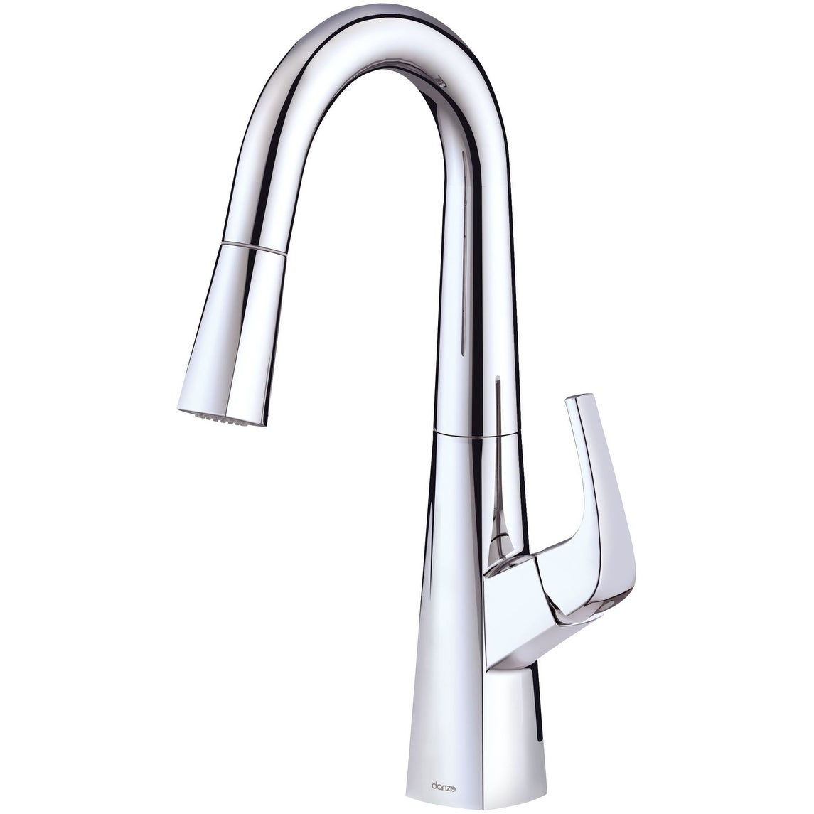 Danze D150518 Vaughn 1.75 GPM Single Hole Pull Down Kitchen Faucet