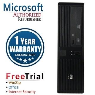 Refurbished HP RP5700 SFF Intel Core 2 Duo E6300 1.86G 2G DDR2 80G DVD Win 7 Home Premium 1 Year Warranty - Black