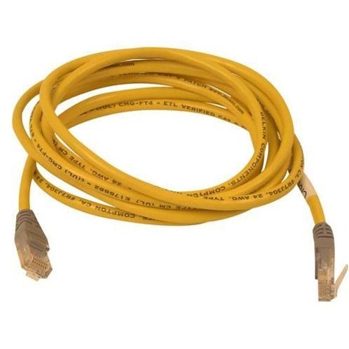 Belkin Components - Cat5e X-Over Cable Rj45m/Rj45m 25 Yellow
