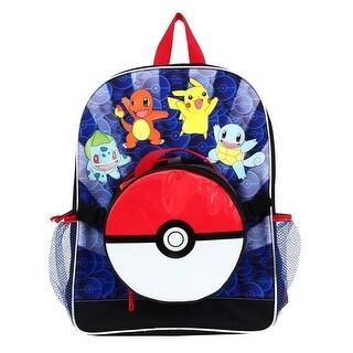 Nintendo Pokemon Pokeball Backpack and Lunch Bag Set