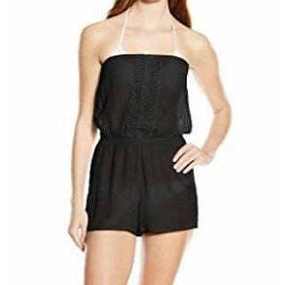 Laundry By Shelli Segal NEW Black Women's Size Large L Cover-Up Swimwear