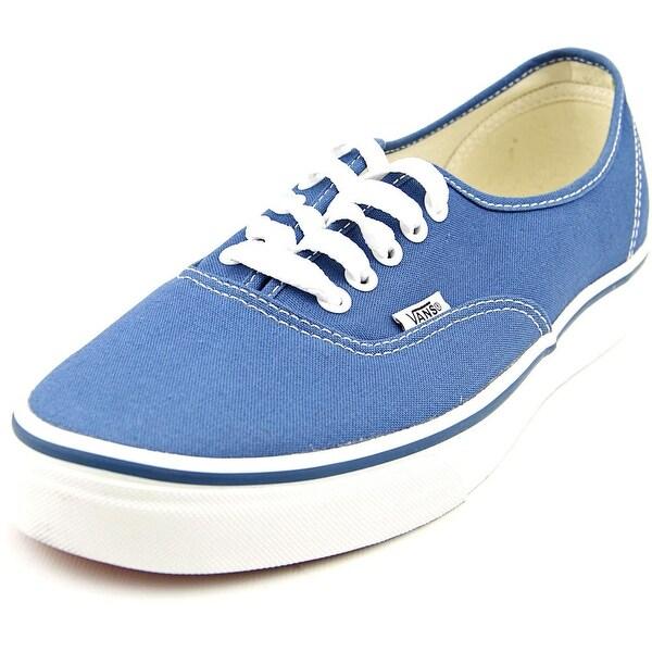 Vans Authentic Men Round Toe Canvas Blue Skate Shoe