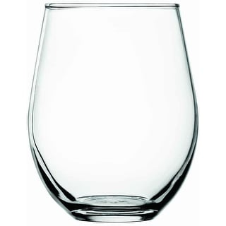 Anchor Hocking 95142 Vienna Stemless Red Wine Beverage Set, 20 Oz