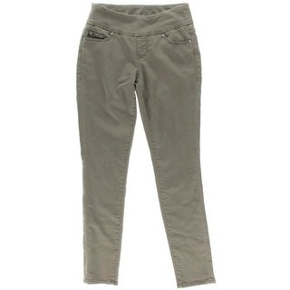 Jag Jeans Womens High Rise Knit Denim Skinny Jeans