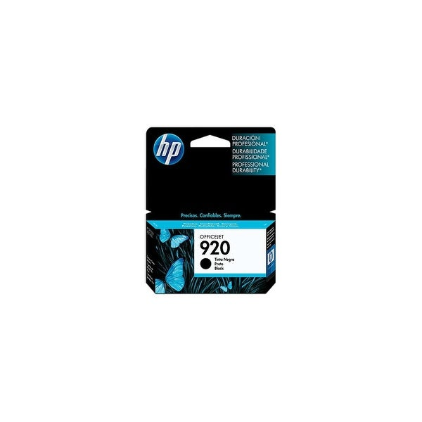 HP 920 Black Original Ink Cartridge (CD971AN)(Single Pack)