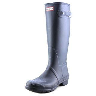 Hunter Men's Original Tall Men Round Toe Synthetic Blue Rain Boot