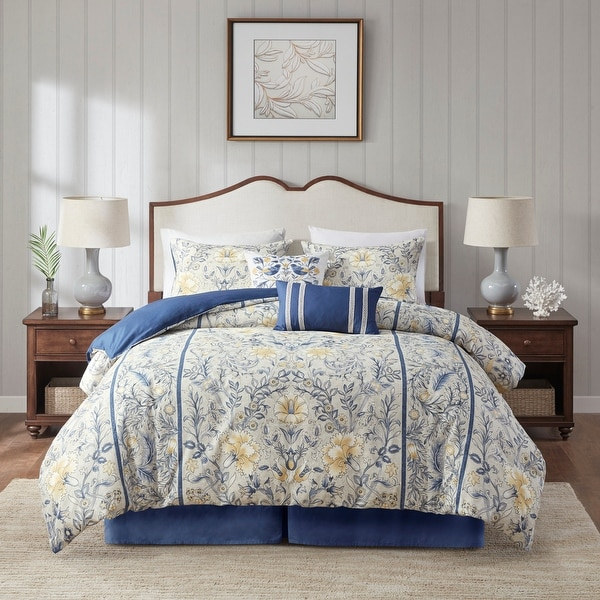 Harbor House Livia 6 Piece Cotton Comforter Set. Opens flyout.