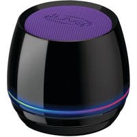 Ilive Isb35Pr Bluetooth(R) Speaker With Glow Ring (Purple)