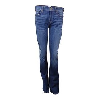 Hudson Women's Midrise Bootcut Pants