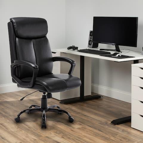 Moda 2191 Bonded Leather High Back Swivel Task Chair