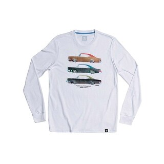 adidas Skateboarding Mens Snoop X Gonz Long Sleeve Tee - White - X-LARGE