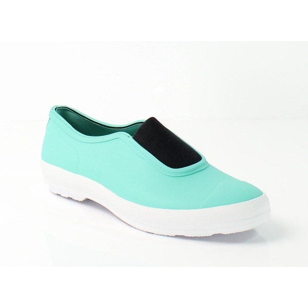 Hunter NEW Blue Shoes 9M Plimsoll Waterproof Slip-On Ankle Booties
