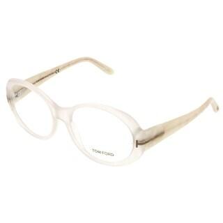 Tom Ford FT5246/V 024 White Oval Opticals