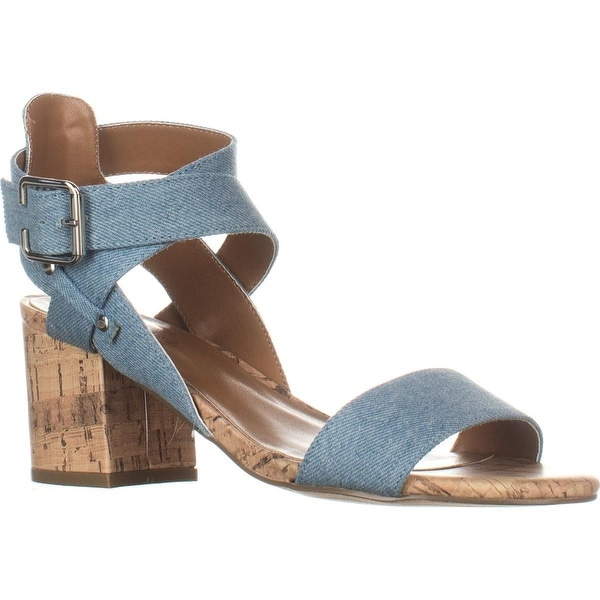 Indigo Rd. Elea3 Ankle Strap Sandals, Light Blue