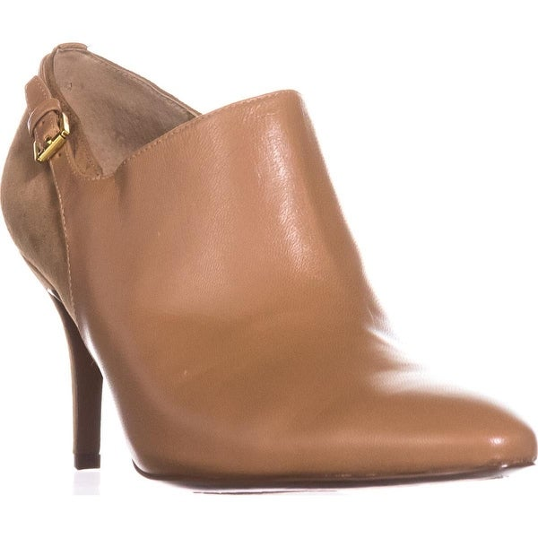 Lauren Ralph Lauren Pabla Dress Booties, Camel - 7.5 us / 38.5 eu