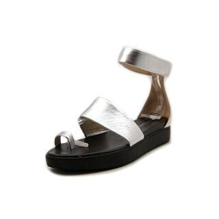 Via Spiga Coco Open Toe Leather Gladiator Sandal