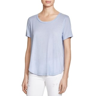 Splendid Womens Casual Top Jersey Short Sleeves