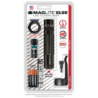 Mag Instrument 224322 3A LED Tactical Flashlight Combo Pack