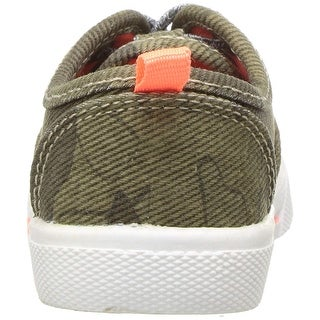 Kids Carter's Boys MAXIMUS2 Fabric Low Top Lace Up Fashion Sneaker - 11 toddler boys