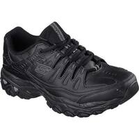 Skechers Men's After Burn Memory Fit Reprint Black