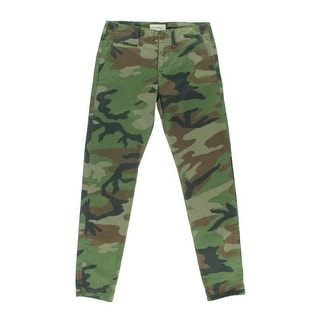Denim Supply Ralph Lauren Camo Print Boyfriend Jeans Pants - 25