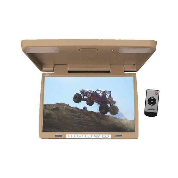 Tview t156irtan monitor 15.4 tview overhead; tan; remote; ir transmitter