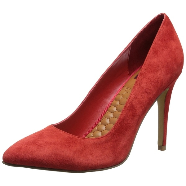 DV by Dolce Vita Womens OAKLEE Leather Pointed Toe Classic Pumps