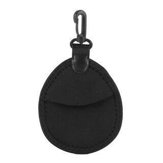 Unique Bargains Camera Soft Neoprene 2 Compartments Filter Lens Pocket Carry Pouch Bag Holder