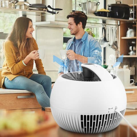 Ainfox Portable Air Purifier for Home with True HEPA