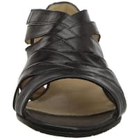 Amalfi by Rangoni Womens Demetra Open Toe Casual Strappy Sandals