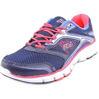 Fila Stir Up Round Toe Synthetic Running Shoe