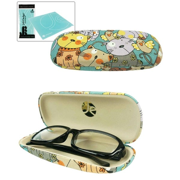 Microfiber Cleaning Cloth Pattern: Shop JAVOedge Cartoon Cat Pattern Eyeglass / Reading Glass