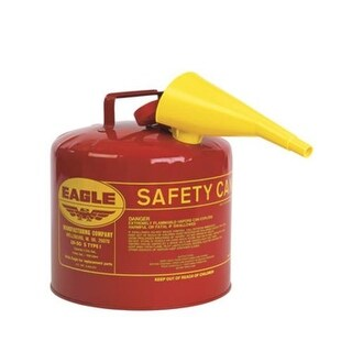 Eagle UI-50-FS Type I Safety Gas Can, 5 Gallon