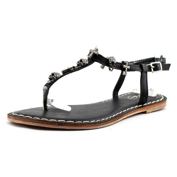 GC Shoes Ellen Open-Toe Leather Slingback Sandal
