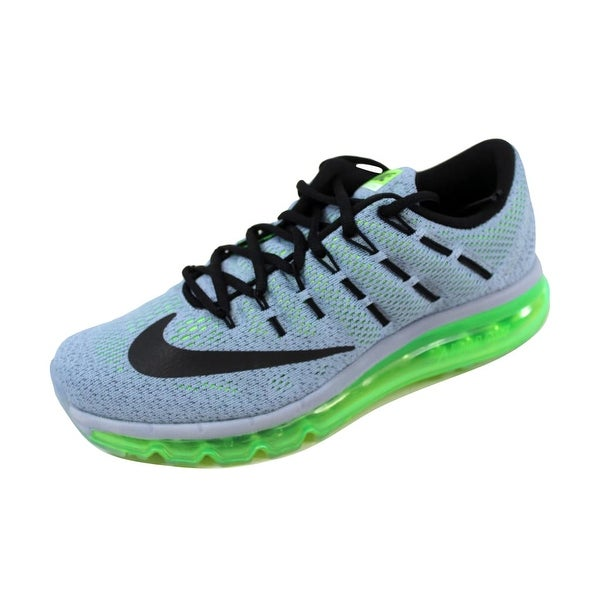 0f25c339962fe ... Men s Athletic Shoes. Nike Men  x27 s Air Max 2016 Blue Grey Black-Electric  Green