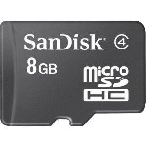 microSDHC 8GB Memory Card - Black