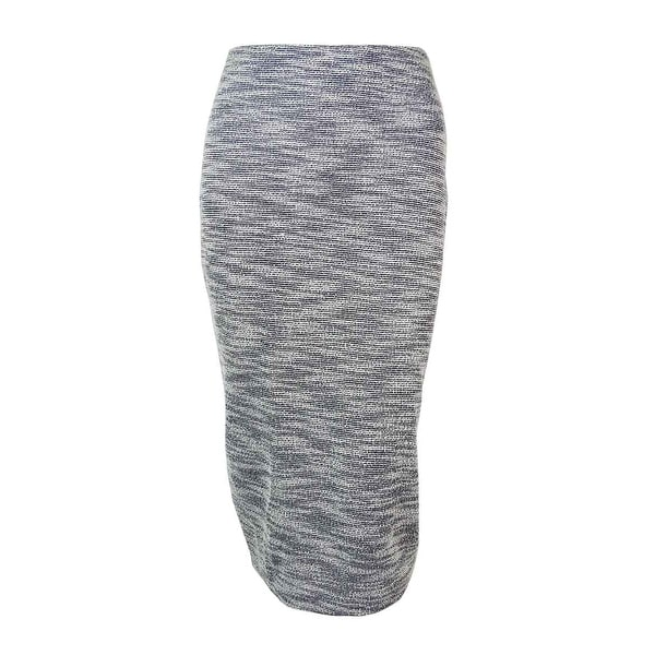 e2a78fe0c72 Shop Bar III Women s Metallic Textured Pencil Skirt - Grey Combo - M - On  Sale - Free Shipping On Orders Over  45 - Overstock - 14727164