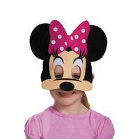 Disguise Minnie Mouse Pink Felt Child Mask