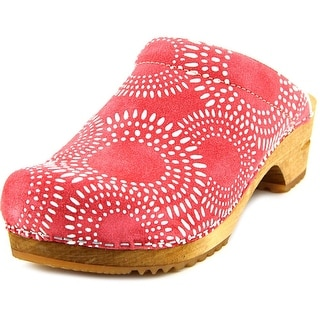 Sanita Original-Prof.Allison Round Toe Leather Clogs