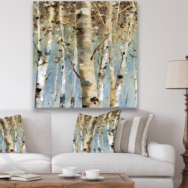 Designart White Birch Forest Ii