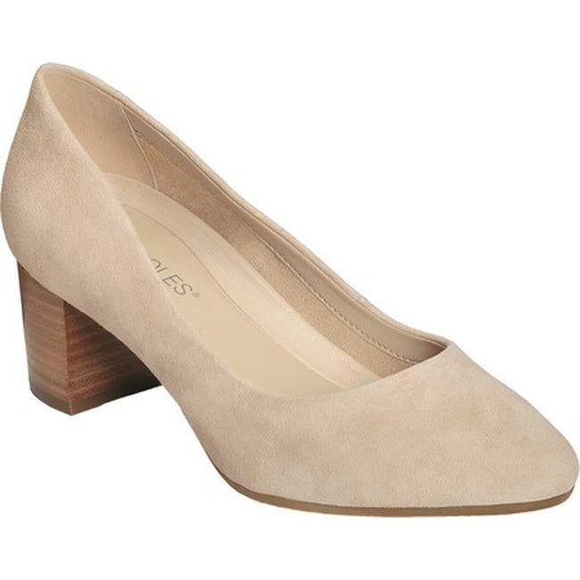 cd5b4ef3bf3 Shop Aerosoles Women s Silver Star Pump Bone Suede - Free Shipping On  Orders Over  45 - Overstock - 19473420