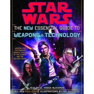 Star Wars The New Essential Guide To Weapons & Technology Book - multi