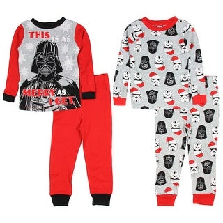 Star Wars Darth Vader This Is As Merry As I Get 4 Piece Cotton Pajama Set
