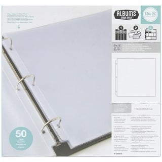 We R Memory Keepers Ring Photo Sleeves 12 x 12 in. - Full Page
