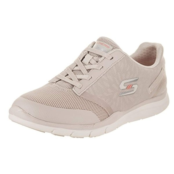 ef3df2d0b817f Shop Skechers Gratis Cloud Up To Speed Womens Slip On Sneakers Natural -  Free Shipping Today - Overstock - 27122369