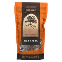 Truroots Organic Chia Seeds - Case of 6 - 12 oz.