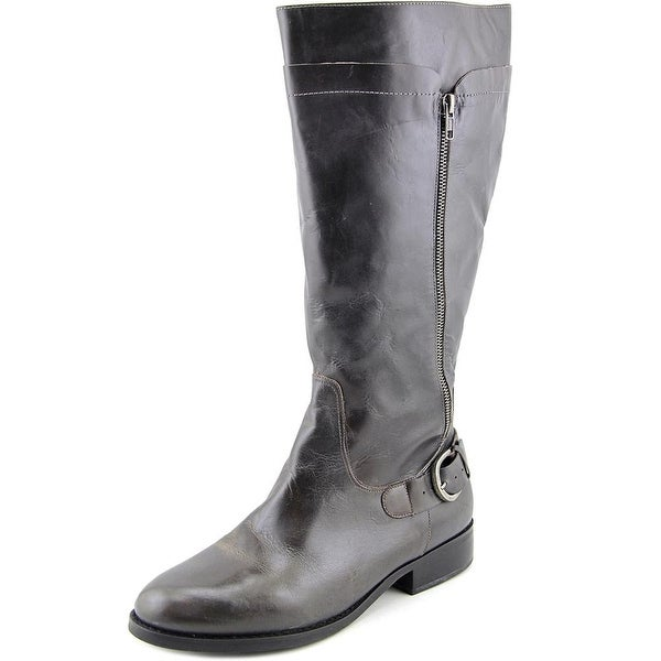 Matisse Loredo Wide Calf W Round Toe Leather Knee High Boot