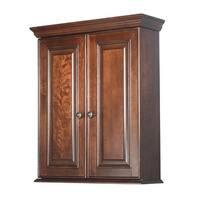 Shop Grand Reserve Cherry Wood Bathroom Wall Cabinet